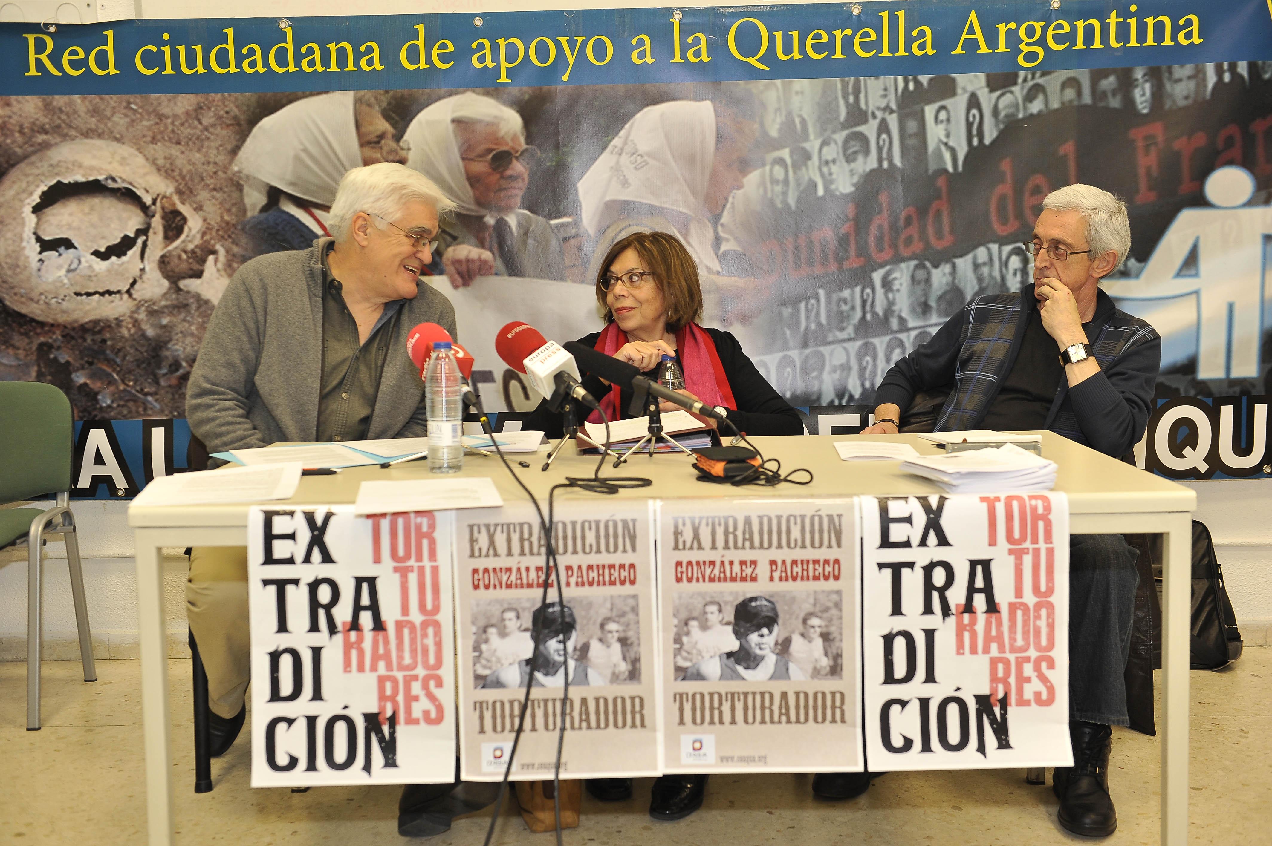 Chato Galante, Ana Messuti y Josu Ibargutxi
