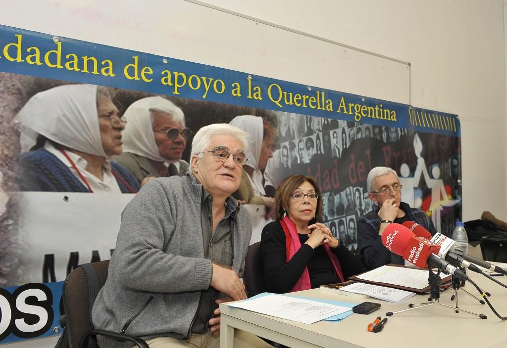 Ana Messuti, Chato Galante y Josu Ibargutxi, rueda de prensa