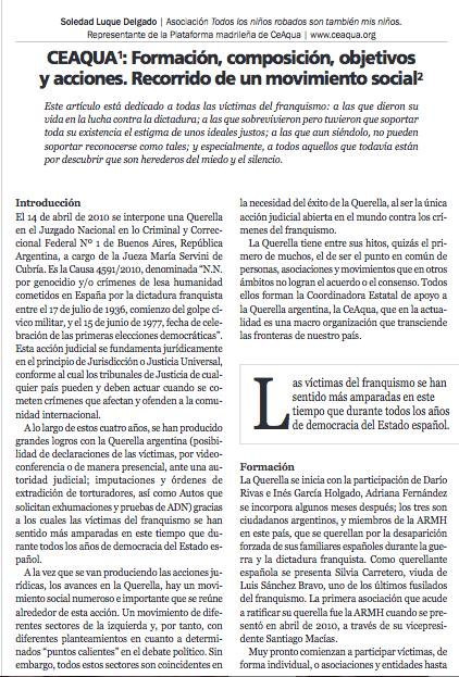 Revista estudios y cultura fundación 1º de mayo nº 63