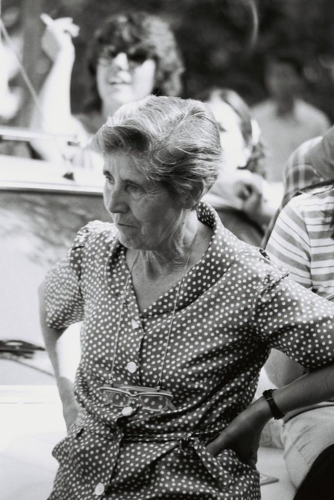 Petra Cuevas, manifestación en 1983