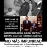Concentración en Vitoria-Gasteiz martes 24 a las 11:30hs