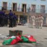 Elgeta recrea en sus calles la brutalidad del régimen franquista