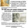 Actos denunciando el crimen del robo de bebés desde los inicios del franquismo