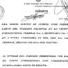 La jueza federal María Romilda Servini de Cubría pidió ayer la exhumación de cadáveres de una fosa común del cementerio de Guadalajara