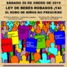 Comparecencia sobre «los bebés robados» en la Asamblea de Madrid