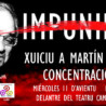 #Asturies #Uviéu: Concentración Xuicio a Martín Villa